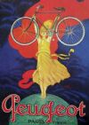 Peugeot Vintage Bicycle Ad T-Shirt. Gents Ladies & Kids Sizes Cycling Poster Tee